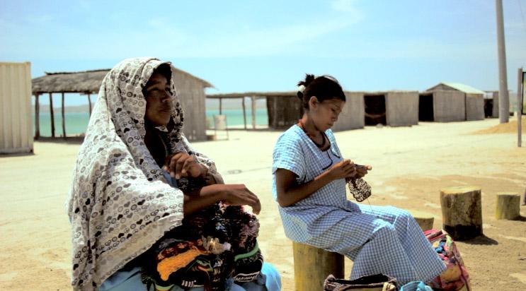 Wayuu Woman in Cabo de la Vela